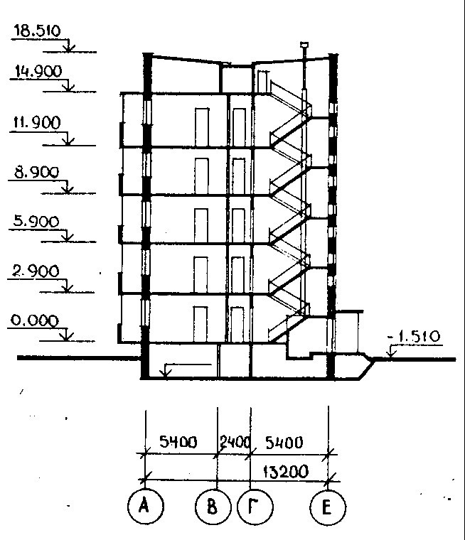 Critical Structural Details- Elevation of a Typical Large Panel Building