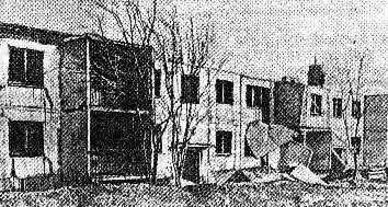 A Photograph Illustrating Gazly Earthquake Damage