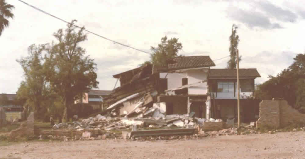 Typical Earthquake Damage: Structural  Collapse