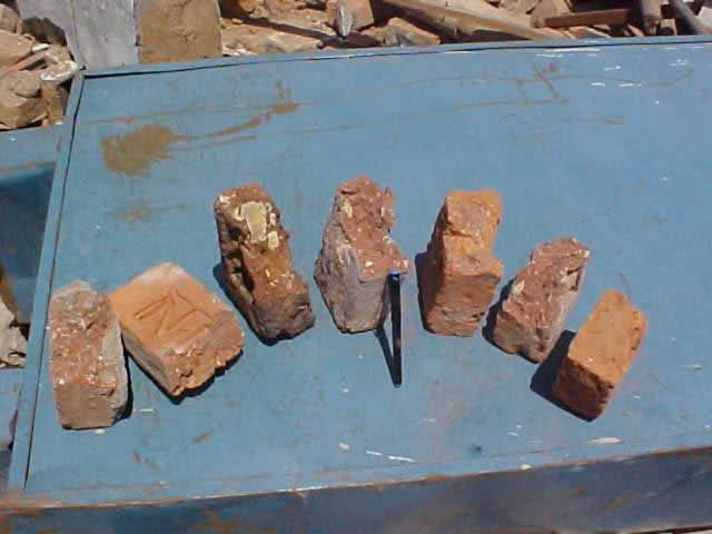 Construction Deficiency: Poor Quality Bricks (Source: Sudhir K. Jain, IIT Kanpur)
