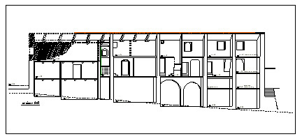 An Elevation of a Typical Building