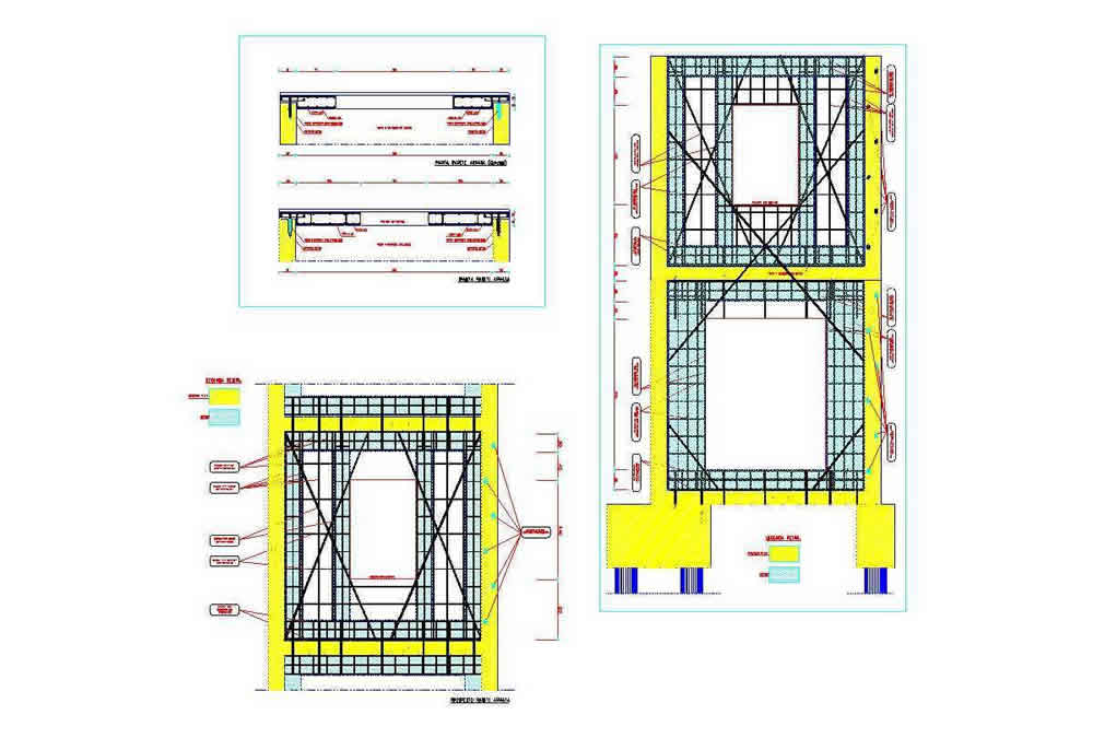 Seismic Strengthening- Details of New RC Shear Wall