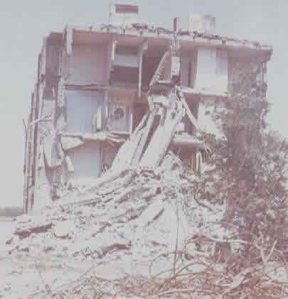 Building Collapse in the 1988 Spitak, Armenia Earthquake (Source: Klyachko, 1999)