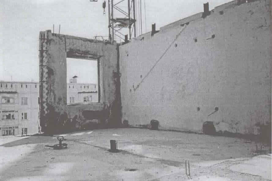 Building Under Construction, Showing Panel Connections (Source: Imanbekov, Uranova and Iwan, 1999)