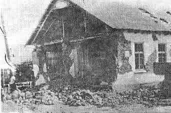 A Photograph Illustrating Typical Earthquake Damage