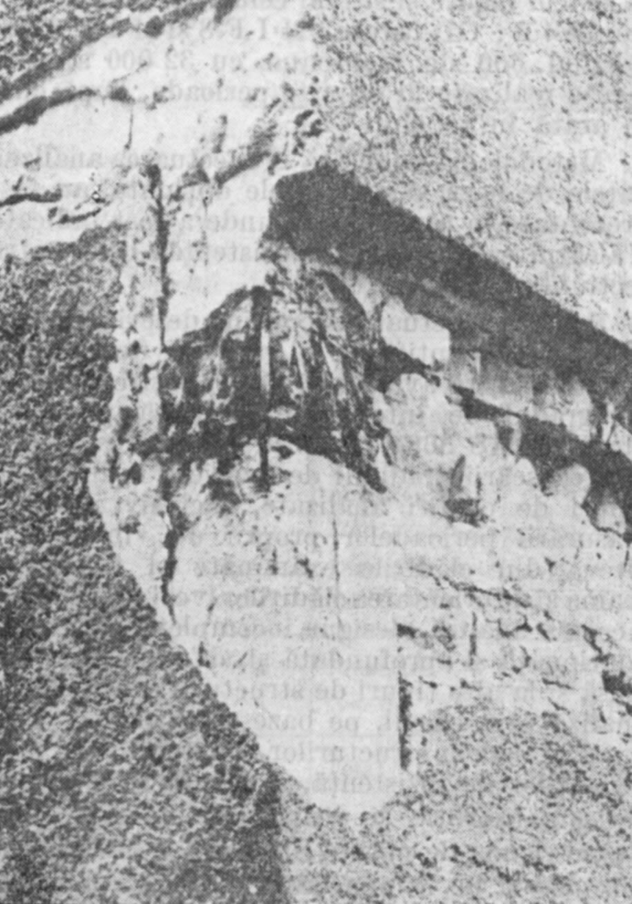 Typical Earthquake Damage to a Boundary Element (bulb) (1977 VranceaEarthquake)