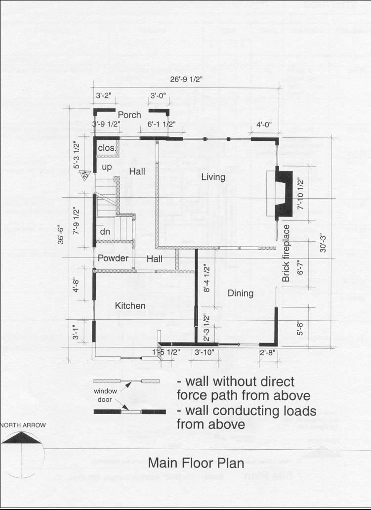 Typical main floor plan (Source: CMHC)