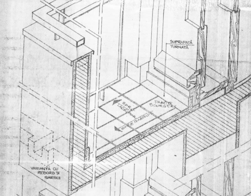 Axonometric view of balcony finishing(from Stan)