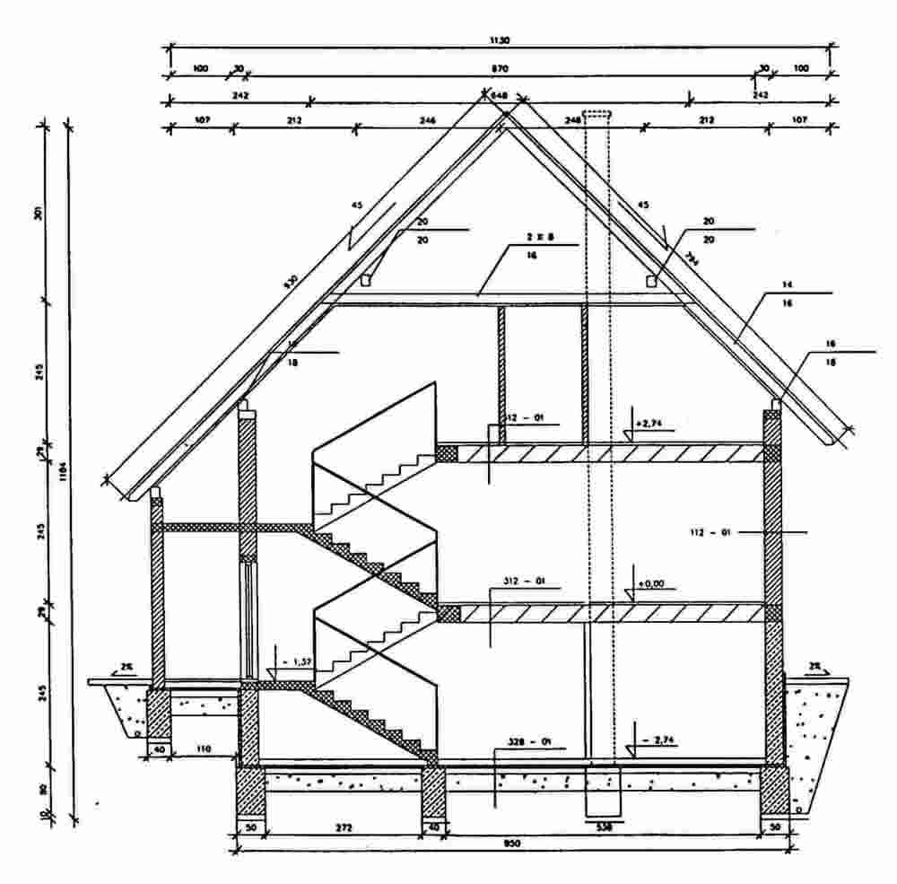 Typical Elevation Showing Key Load-Bearing Elements