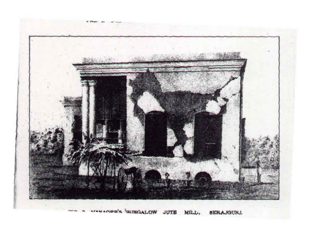 Damage at Sirajganj, 1897 Earthquake