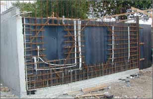 Reinforcement Details for Walls with andwithout Openings