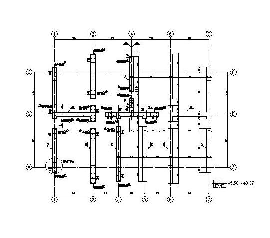The Structural Plan of a Typical Floor