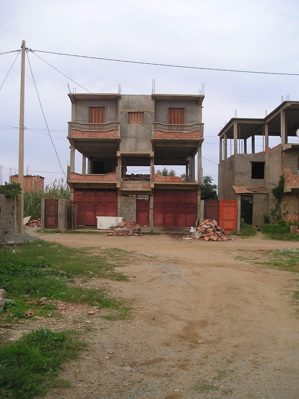 Typical Building Under Construction