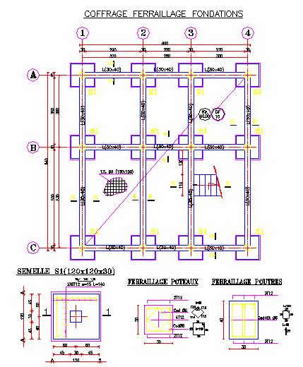 World housing encyclopedia whe for Foundation plan of a 2 storey house