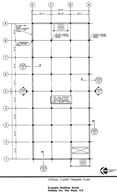 Typical Building Plan (Holiday Inn, Van Nuys, CA) [1]