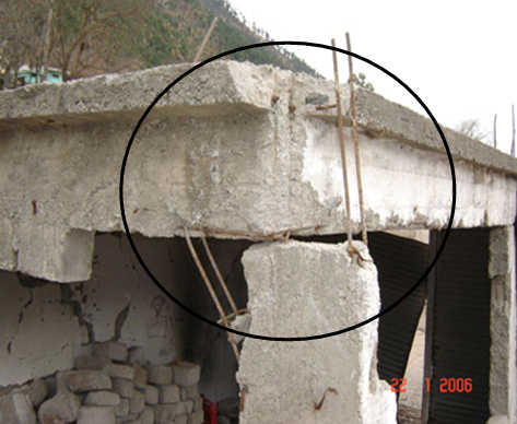 World housing encyclopedia whe for Concrete freezing