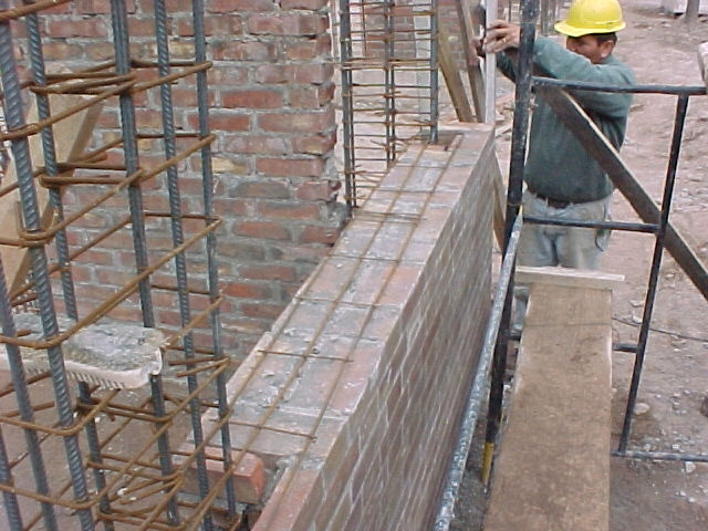 Construction of Reinforced Masonry