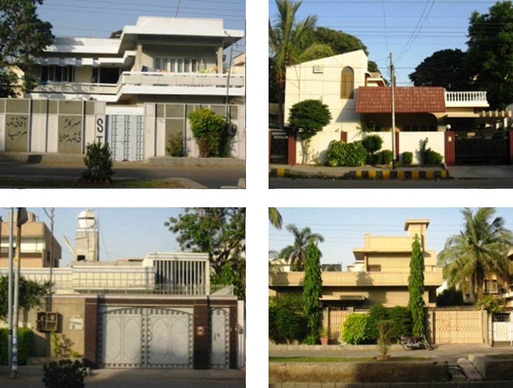 G+1 middle income residences, Gulberg Town,  Karachi.