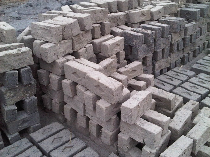 Adobe blocks.