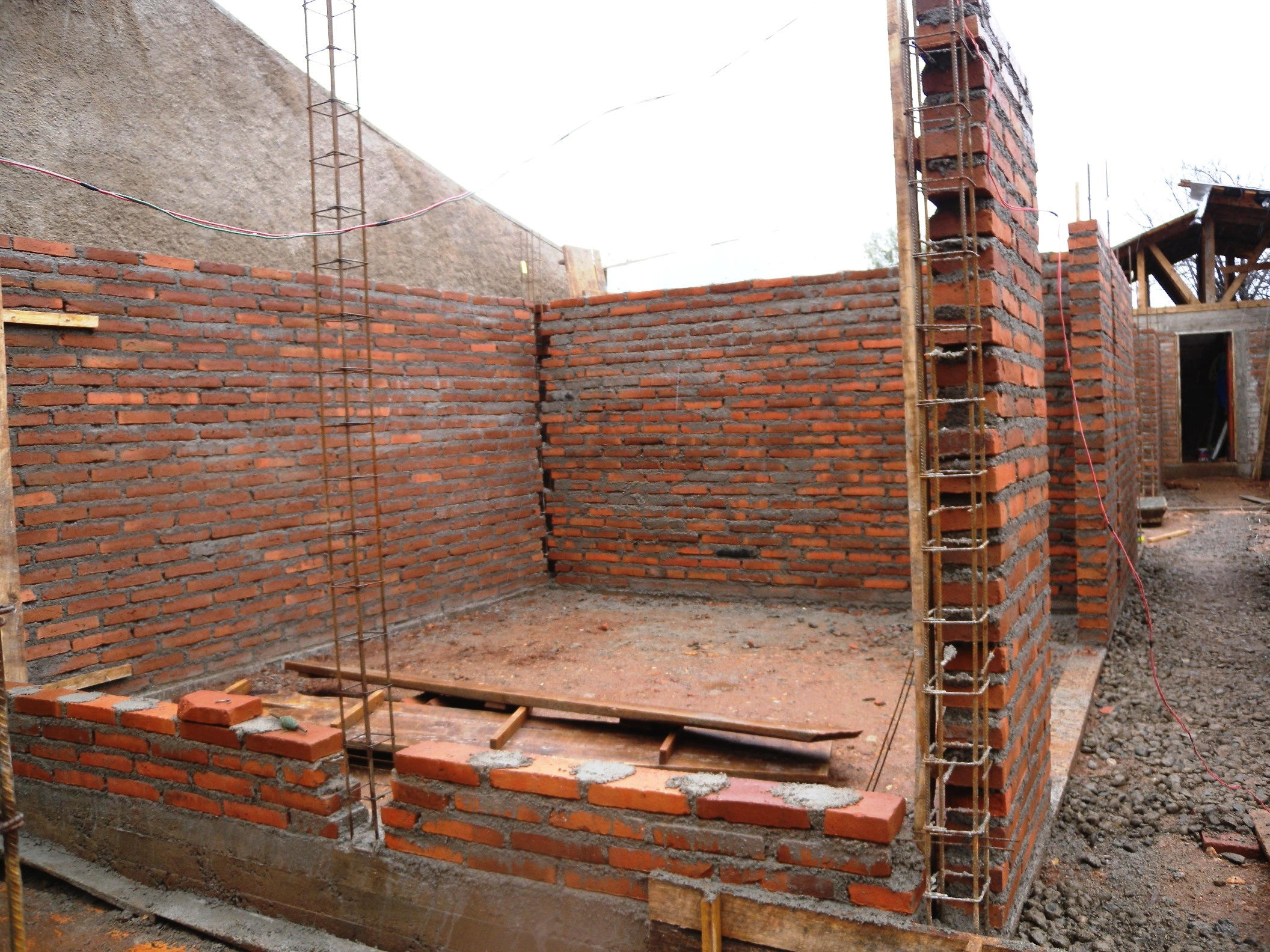Cmu Wall Construction : World housing encyclopedia whe